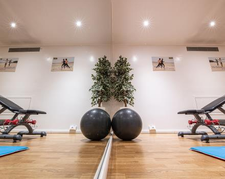 The BW Plus Net Tower Hotel offers a well-equipped fitness area