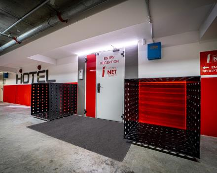 Large and free garage in our 4-star hotel in Padua