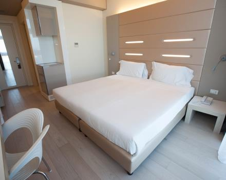 Discover the comfort of Standard rooms of 4-star design hotel in Net Tower Hotel, Padova!