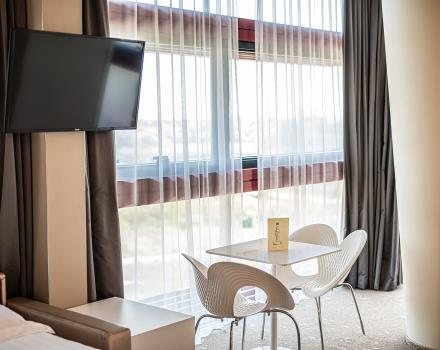 Book the comfort rooms of the BW Plus Net Tower Hotel for your stay in Padua
