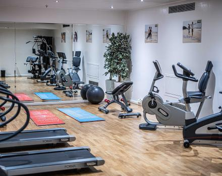 Train at the BW Plus Net Tower Hotel and stay fit during your stay in Padua