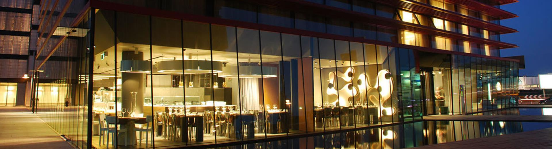 Browse the gallery of Net Tower Hotel, 4-star design hotel in padova est exit.