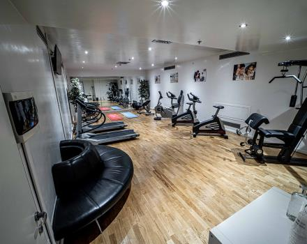 Our 4-star hotel in East Padua offers a well-equipped fitness area