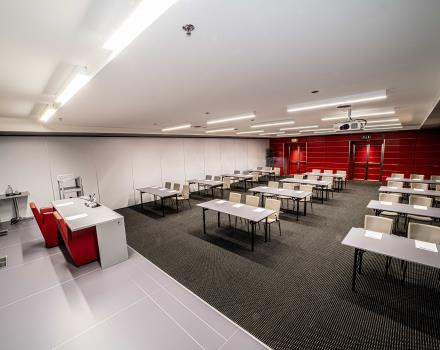 See the meeting rooms of the BW Plus Net Tower Hotel in Padua