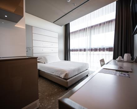 Book the BW Plus Net Tower Hotel 4-star in Padua: comfort and in-room services